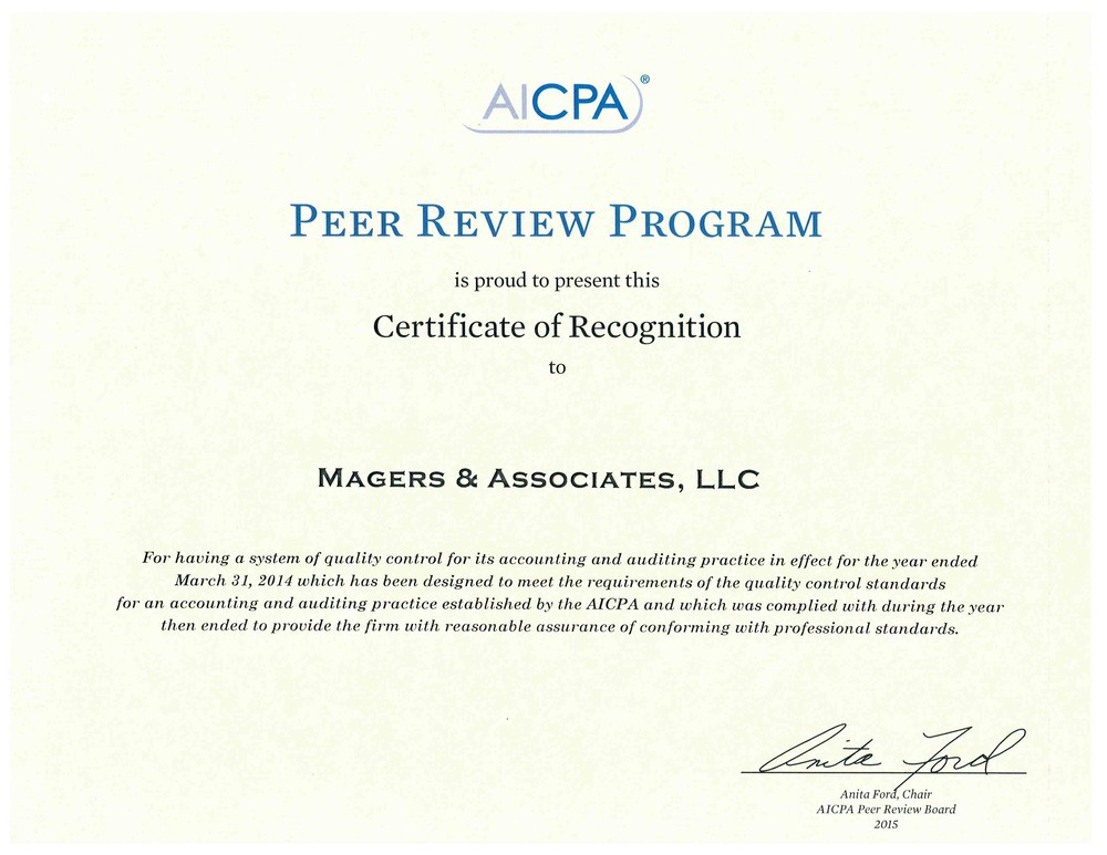 Magers & Associates, LLC: A professional tax and accounting firm in ...